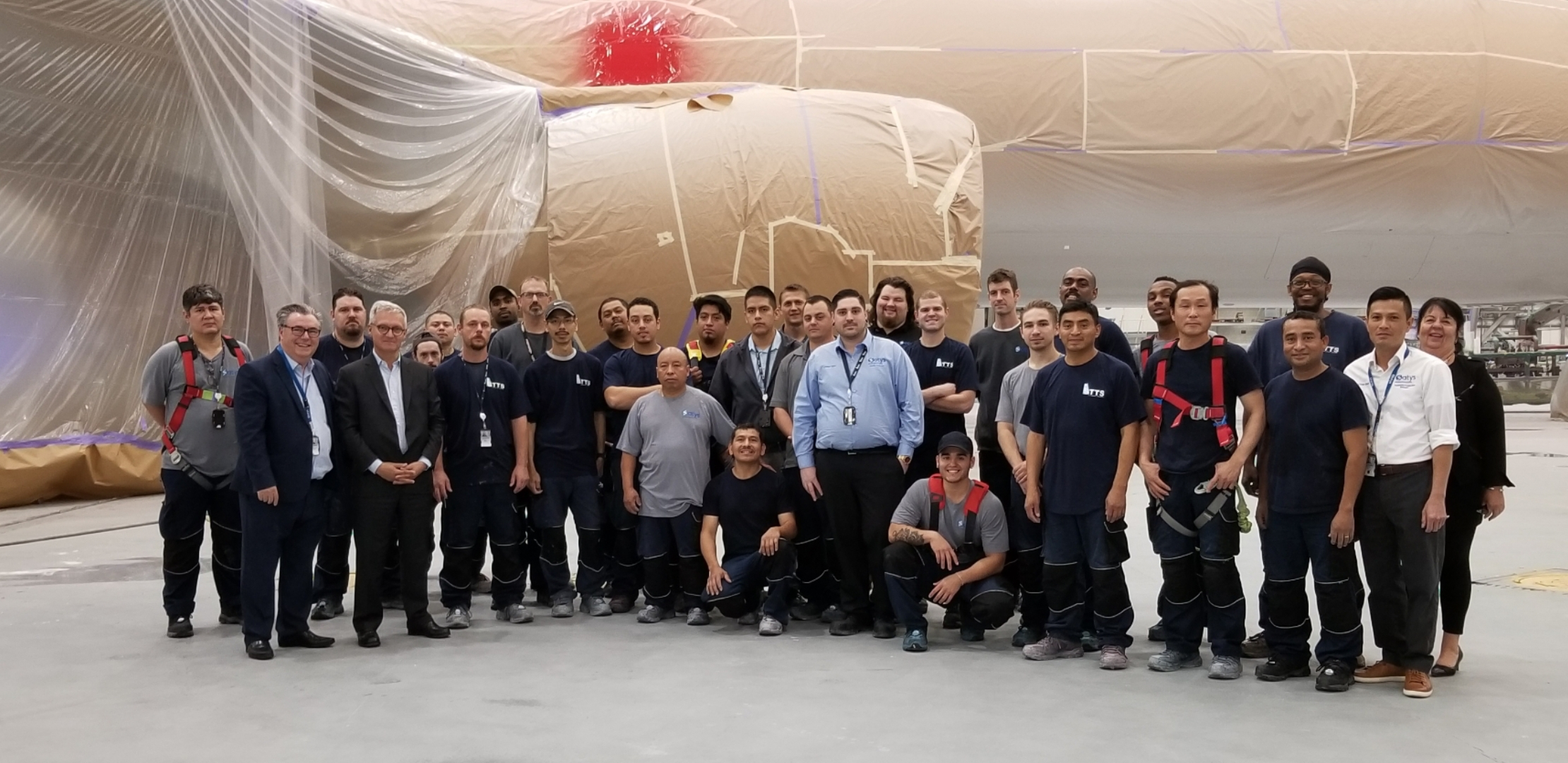 Satys SP USA marked the delivery of 100 aircraft to Boeing Company